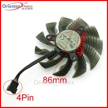 Free Shipping T129215SU 12V 0.50A 86mm 4Pin For Gigabyte GTX1060WF2OC GTX1050TI 4G GTX1050 GTX1060 Graphics Card VGA Cooling Fan(China)