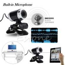 USB 50MP HD Webcam Web Cam Camera With MIC & Clip For Laptop Desktop Computer PC