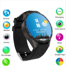 3G Kingwear KW88 Smart watch PK Finow X5 X61.39'' Amoled 400*400 Smart Watch 3G Calling 2.0MP Camera Pedometer Heart Rate