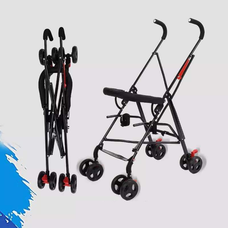 Newborn Baby Car Seat Stroller Carts Light Folding Portable With Children\'s Car Safety Seat Basket Steel Highland Baby Car Frame01
