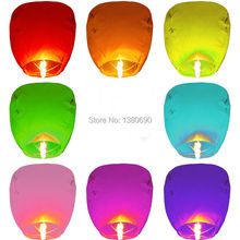 20PCS Mix Color Wishing Lamp Round Paper Chinese Lanterns Kongming Flying Paper Sky Lanterns Wedding Bachelorette Party Balloons