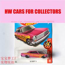 New Arrivals 2017 Hot Wheels 1:64 63 chevy II Metal Diecast Cars Collection Kids Toys Vehicle For Children Juguetes(China)