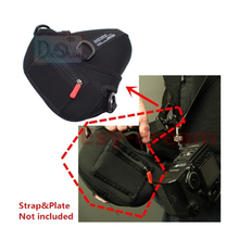 Carry Speed Neoprene Foto Triangle Camera Bag Sling Pouch Case For Canon 5D 7D Mark II III 24-70 Nikon D810 D800 D750 D610 D600(China)