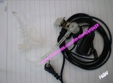 holesale Price of Two Way Radio Accessories Acoustic Tube Earphone Fit for VX-160/VX-168/VX-231(China)