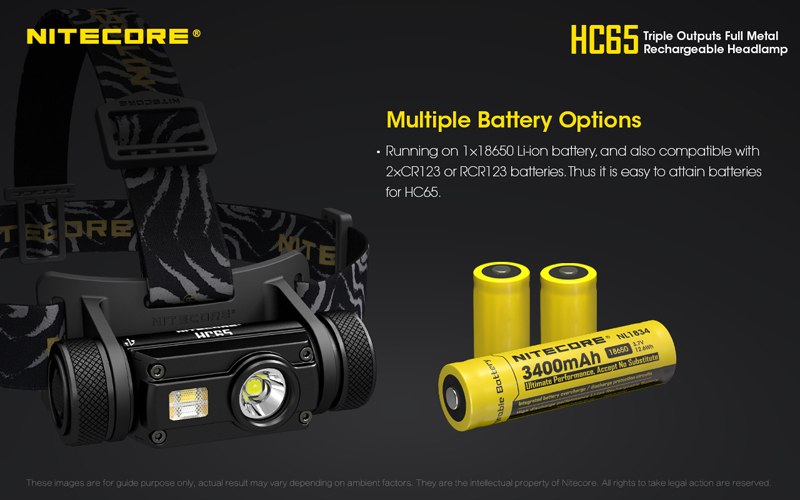 Nitecore HC65 1000 Lumens Rechargeable Headlamp (16)