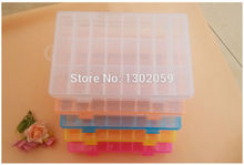 Factory Sale DIY Needlework Cross Stitch Tool Plastic Storge Box 24 Grids--Available