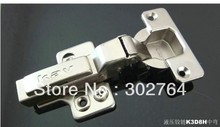 40PCS concealed hydraulic furniture ,cabinet hinge,clip on ,3d fast transfer(+/-2mm) half overlay(China)