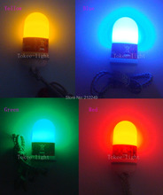 4 piece one lot Underwater i-Buddy Firefly Scuba Night Dive Marker LED Beacon Beam Safety Signal Light lamp