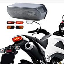 Turn Signal Light 2017 Integrated LED Tail Turn Signal Brake Light For Honda Grom Z918 DROPSHIP 5up(China)