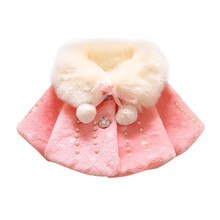 2017 Children ClothesFaux Fur Fashion Casual Girls Boys Long Sleeve Hoodie Warm Winter Coat Childrens Kids Jacket BFOF(China)