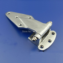 free shipping 5 inch Cold storage hinge oven hinge industrial part Refrigerated truck car door hinge Cast iron hardware