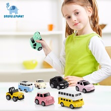 DODOELEPHANT Alloy Car Toy Pull Back Car Diecasts Toy Vehicles Brinquedos Mini Metal Car Toys for Boys Children Birthday Gift(China)