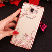 Cover Phone Case For Samsung Galaxy J3 J5 J7 2015 2016 J500 J510 J700 J710 Shell Soft Ultrathin Silicone Crystal Glitter