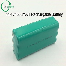 T285D cleanerBattery 14.4v ni-mh rechargeable 14.4v AA 1600mah Nimh battery pack fo Papago S30C intelligent sweeping robot VONE(China)