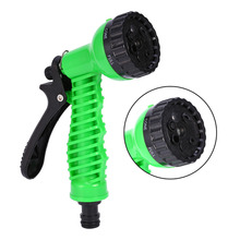 Ajustable Hose Nozzles 7 Pattern Garden Water Gun Watering Hose Spray Gun Car Cleaning Watering Lawn Garden Sprinkler Nozzle(China)