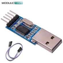 2Set PL2303 For Arduino USB To RS232 TTL Converter Adapter Module PL2303 PL2303HXA Download Board Module 4Pin Cable For Arduino(China)