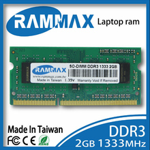 New sealed Laptop Memory Ram1x2GB DDR3 SO-DIMM 1333Mhz PC3-12800 204-pin/CL9/1.5v high compatible with all brand motherboards