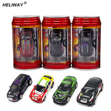 Wltoys Coke Can Mini RC Car Hot Sale 20KM/H Radio Remote Control Micro Racing Car Frequencies Toys for Kid Best Gift(China)