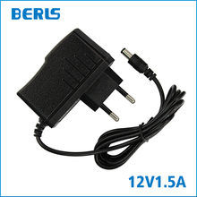 2017 Universal Power Supply Adapter 12v 1.5a Adaptor Raspberry Real Sale 1500ma For Connector Raspberry 3.5*1.35mm With Eu Plug