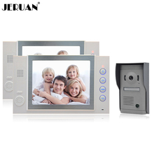 JERUAN 8 inch LCD screen video doorphone recording photo taking Home video door phone doorbell monitor intercom system