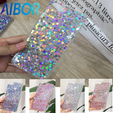 New Colourful Case 3D Luxury dazzling Bling Glitter Case For iPhone 6 6s plus 7 plus Candy colorful Shine Back Cover Phone Cases