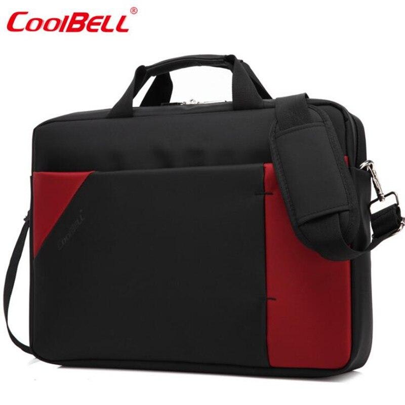 Cool Bell Fashion 15.6 inch Laptop Bag Notebook Computer Bag Waterproof Messenger Shoulder Bag Men Women Briefcase Business M631<br>