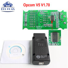 High Quality OP COM V1.70 OPCOM For OPE-L Car Styling With PIC18F458 OP-COM OBD2 Scanner Micro Chip Diagnostic Tool