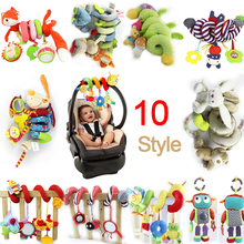Buy 2016 New Infant Musical Soft Plush Rabbit Bear Dog Robot Baby Rattle Hanging Bed Stroller Star Teether Rattle Mobile Baby Toys for $4.36 in AliExpress store