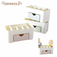 DINIWELL Multifunctional Desktop Office Drawer Storage Boxes Bins Bathroom Kitchen Supplies Organizer