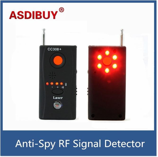 CC308 Full Range Wireless Camera GPS Anti-Bug Detect RF Signal Detector GSM Device Finder FNR CC308+<br><br>Aliexpress