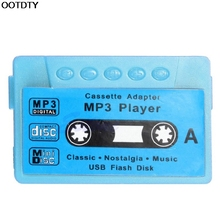 16GB Support USB Disk Cassette Flash MP3 Music Player Micro SD TF Card Earphone #L060# new hot(China)