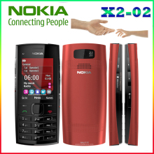 X2-02 Original Nokia Phone Symbian OS X2-02 mobile phone fashion cell phones Free shipping