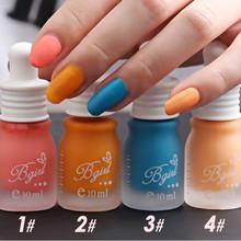 Pro 6 Colors Scrub Matte Tasteless Candy Color Nail Art Polish 10ML Nail Polish(China)