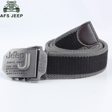 Afs Jeep Brand Mens Belt Luxury Belts Designer Belt Men Military Men's Jeans Belts Canvas Man Masculino Cinturones 110cm 140cm