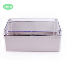 PVC Cover Transparent Cover Grey ABS body IP67 Plastic Waterproof Enclosures 150*250*100mm Junction Box 250*150*100mm connector