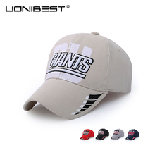 UONIBEST Autumn New Football Team Hat Outdoor Cotton Visor Ms. M VN1095(China)