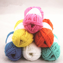 100g/pcs Crochet Cloth Fancy Yarn Knitting Woolen Hand-knit Weaving Thread For Clothes Rugs Crocheted Basket DIY Craft GPD8195