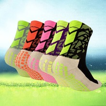 New 5Colors Anti Slip Soccer Socks Cotton Sports Football Socks (The Same Type As The Trusox )