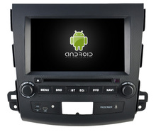 Android 5.1.1 CAR Audio DVD player FOR MITSUBISHI OUTLANDER gps Multimedia head device unit  receiver BT WIFI