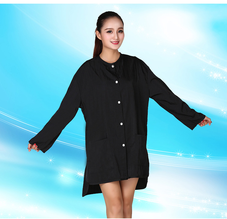 1pcs Professional Hairdressing Beauty SPA Gown Snap-fastener Robe Hair Capes Styling Barber Salon Hairdresser Wraps Cloth 6