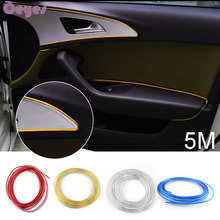 5M Car-Styling Auto DIY Decoration Decals Case Lexus Mitsubishi Nissan Opel Renault Bmw Audi Alfa Car Interior Stickers