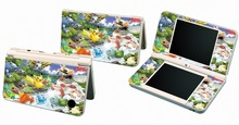 Pokemon 047 Vinyl Skin Sticker Protector for Nintendo DSI XL LL for NDSI XL LL skins Stickers