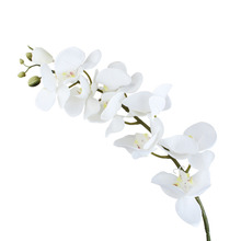 Silk Flowers for a Wedding Decoration Orchid Artificial Flowers Bouquet Decor Fake Flower Home Decor Festive Party Supplies
