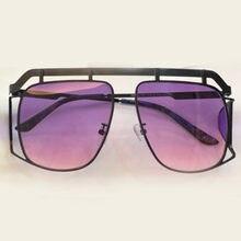 64e6cdad40 Square Sunglasses Women Brand Designer Vintage Fashion Eyewear Female Shades  Retro Fashion Shades Alloy Frame UV400 Lens