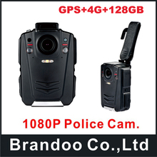 A12 Chip Night Vision GPS Police Body Worn Camera Professional Video with 4G function