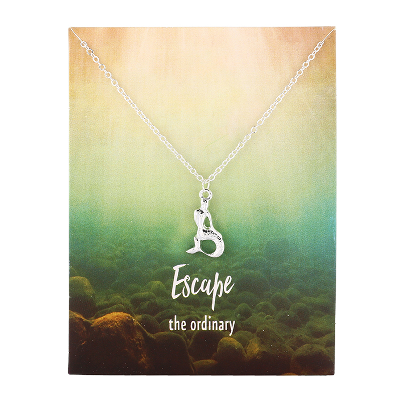 Escape the Ordinary - Little Mermaid Pendant Necklace