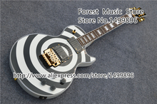Righteous Price For Zakk Wylde Signature Bullseye LP Electric Guitarra Rosewood Fingerboard Guitar In Stock