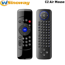 C2 Fly Air Mouse Wireless Game Keyboard Android tv box Remote Controller 2.4Ghz Keyboard for Smart Tv Mini PC media player