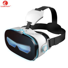 New VR Virtual Reality Glasses 3D VR Glasses Headset Immersive Private 3D Cinema for 4.0-6.33 Inches For Android/iOS Smart Phone