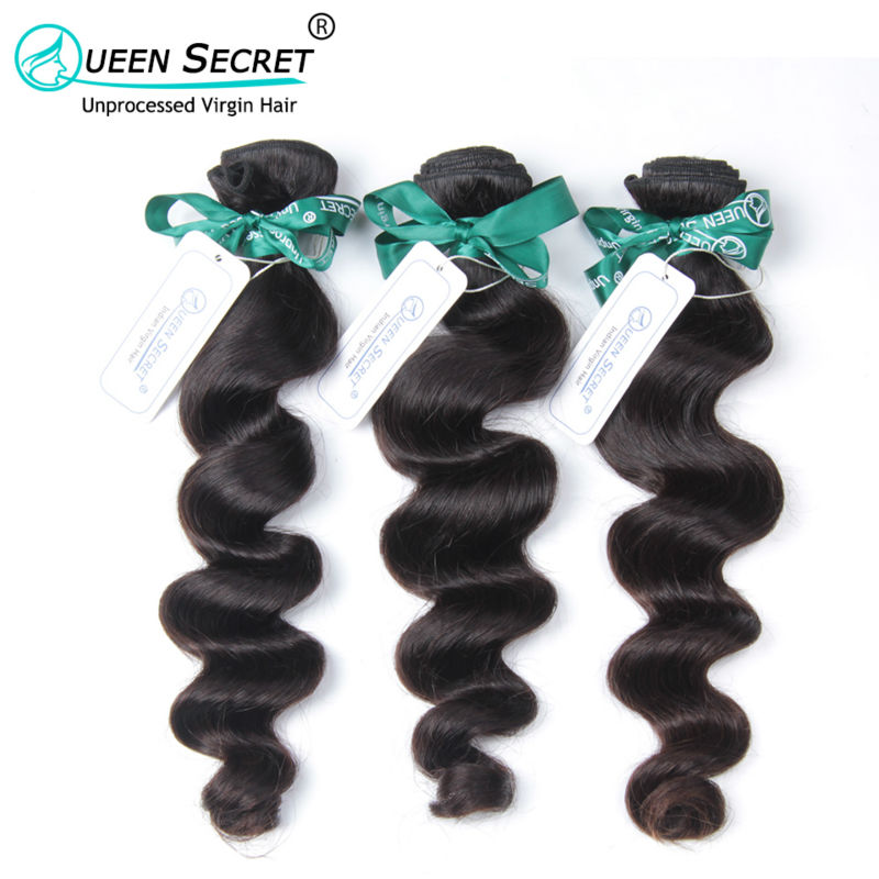Queen Secret Most popular Indian loose wave soft and cheap price human hair 4pcs a lot unprocessed human hair Indian loose wave<br><br>Aliexpress